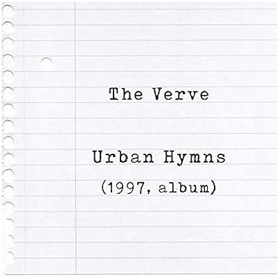 The Verve Poster Print - Urban Hymns - Letra firmada regalo ...
