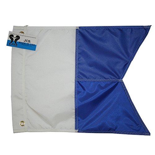 (JCS Nylon Alpha Flag, Slip on Style, 14inch x)