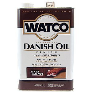 RustOleum/Watco #65331 Black Walnut Danish Oil, 1 Gallon