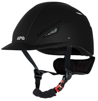 Casque Gpa Easy Noir 59 Amazonfr Sports Et Loisirs