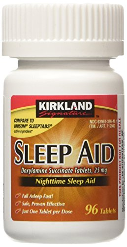 Kirkland Signature Sleep Aid Doxylamine Succinate 25 Mg X 96 Tabs
