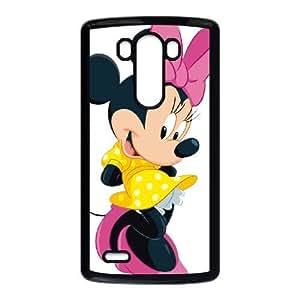 LG G3 phone case Black Minnie Mouse UUH7347608