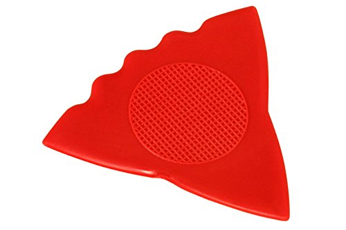 Folkcraft Brand Herdim Nylon Pick, 3 In 1 Style, Medium Red, 12 Pack (Guitar Picks Herdim)