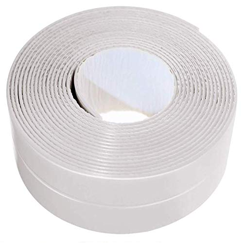 Caulk Strip LIKEGOR Flexible Self Adhesive Sealing