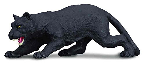 ack Panther Toy Figure - Authentic Hand Painted Model (Wildlife Animal Figure)