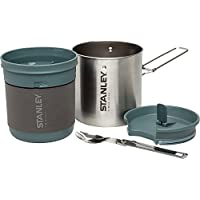 Stanley Mountain Series Compact Cookset, Stainless Steel, 24-Ounce