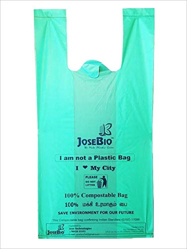 Jose Bio degradable Carry Bags - Pack of 100 No's: Amazon in
