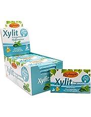 Birkengold Xylitol kauwgom pepermunt | 24 st. blister | verzorgingskauwgom | suikervrij | hoog xylitolgehalte van 70 % | veganistisch | zonder titaandioxide | zonder aspartaam