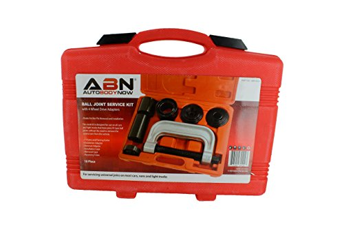ABN Ball Joint Press 10pc Set – Ball Joint Tool, Bushing Removal Tool – Service Tool Kit with 4-Wheel Drive 4WD Adapter by ABN (Image #2)