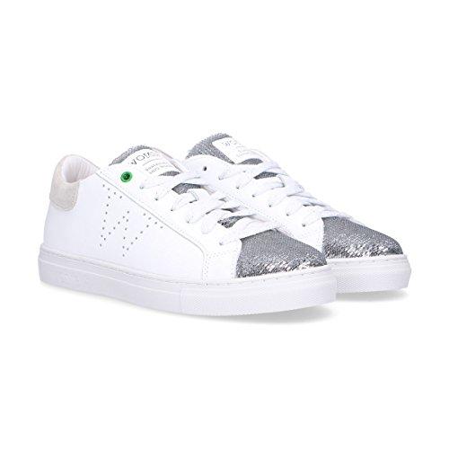 Womsh Kvinder S180219 Hvide Læder Sneakers CcKQhpLTSX