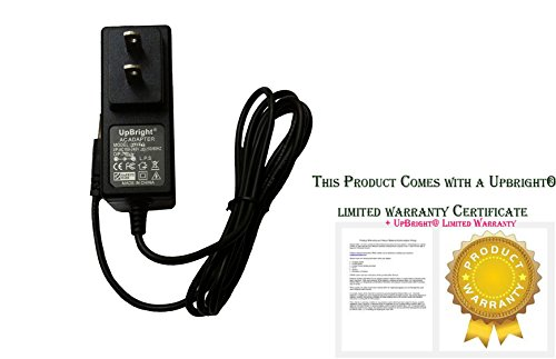 Price comparison product image UpBright NEW AC / DC Adapter For AngelCare Baby Monitor AC300 AC301 AC420 AC420D Movement & Sound Monitors; AC1120 Video Monitors Power Supply Cord Cable PS Wall Home Charger Input: 100 - 240 VAC Worldwide Use Mains PSU