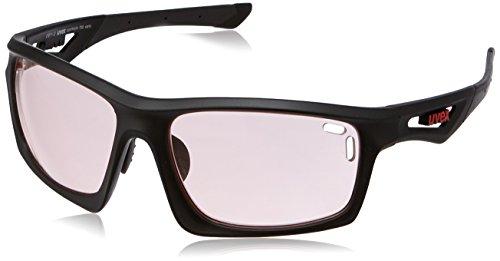 Uvex Sportstyle 700 Variomatic Sunglasses Black Matte/Rose, One Size - Men's (Uvex Shop)
