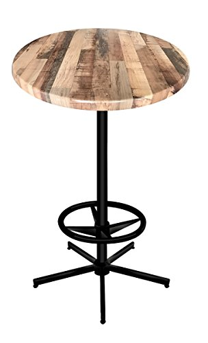 (Holland Bar Stool Co. OD21642B30RRustic Enduro Top Indoor/Oudoor Table, Rustic)