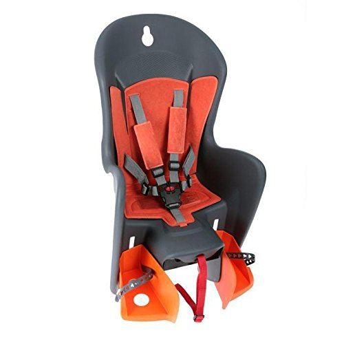 Kindersitz Hinten Polisport Bilby Maxi - Grau/Orange (FF) 5604415023781
