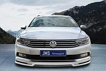 JMS Race Look Exclusiv Line Frontal Alerón Labio para Volkswagen Passat 3 C Sedan B8/Variant: Amazon.es: Coche y moto