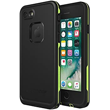 online retailer 8273f a8e49 Lifeproof FRĒ SERIES Waterproof Case for iPhone 8 & 7 (ONLY) - Retail  Packaging - NIGHT LITE (BLACK/LIME)
