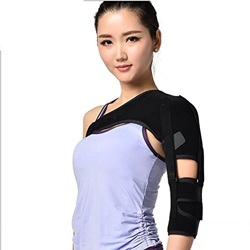 LPY-Shoulder Support Brace Arm Strap Adjustable Wraps Belt Band for Women Men- Rotator Cuff Shoulder Tear Injury AC Joint Dislocated Prevention and Recovery by Nursing supplies