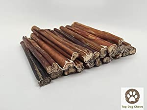 12 inch standard bully sticks by top dog chews 12 pack pet s. Black Bedroom Furniture Sets. Home Design Ideas