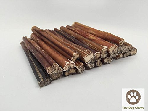 12-inch Standard Bully Sticks by Top Dog Chews (12 Pack)