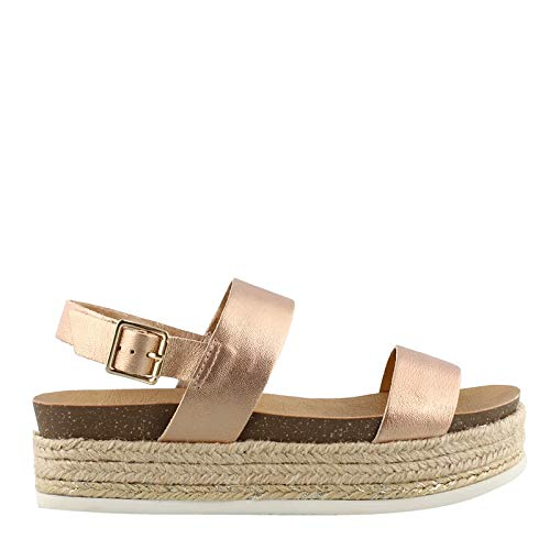 - Chelsea Crew Women's, Colby Slide Sandals Rose Gold 39 M
