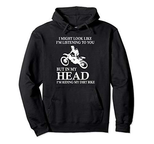 Im Riding My Dirt Bike Funny Motocross BRAAP Hoodie