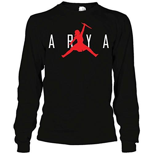 4fffed0b1ce039 Game-of-Thrones Air Jordan Arya T-Shirt Hoodie Sweatshirt for Men for