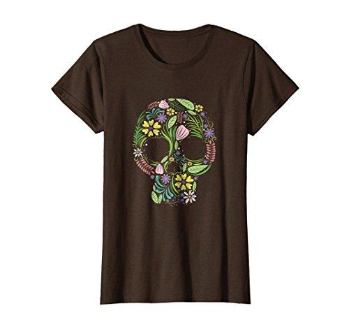 Bohemian T-shirt for Men Women Kids Medium Brown ()