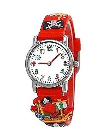 Pure Time® Kinder-Uhr Mädchen-Uhr für Kinder Jungen-Uhr Silikon ...