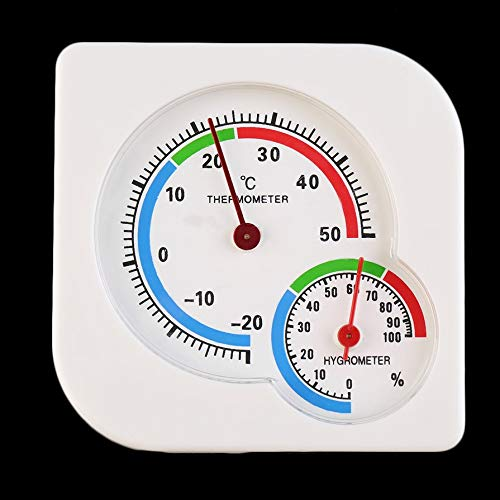 New Useful Nursery Baby House Room Mini Thermometer Wet Hygrometer Temperature Meter Home Use Household Supply