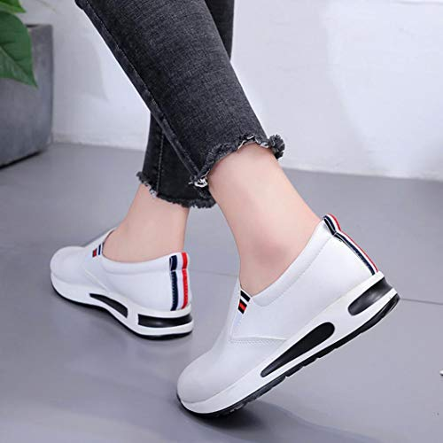 Girls Shoes Ankle Autumn FALAIDUO Sport Student Bottom Slip Shoes Flat Fashion White Teen Boots Women Winter Shoes On Thick Casual Platform IvIwnSZEqr