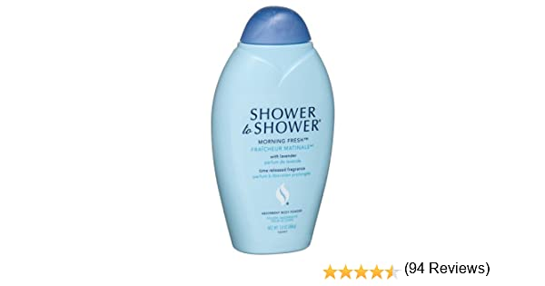Amazon.com : Shower to Shower Absorbent Body Powder, Morning Fresh with Lavender, 13-Ounce Bottles (Pack of 4) : Bath And Shower Gels : Beauty