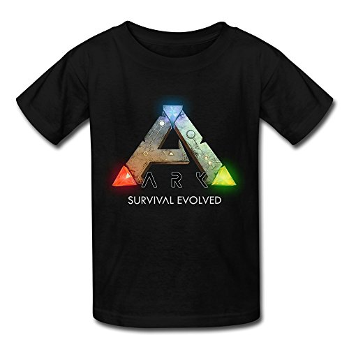 SANYOU Kid's Vintage Ark Logo Ark Survival Evolved T-shirts Size M