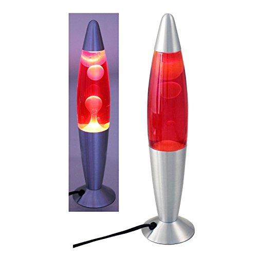 DonRegaloWeb - Lámpara de lava amarilla y roja 36 cm de alto [Clase de eficiencia energética E] 25.33