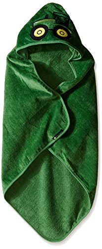 John Deere Baby Boys Tractor Hooded Towel, Green, One Size