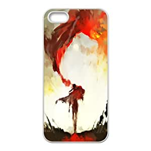 Custom Case Oil Painting For iPhone 5, 5S Q3V853183
