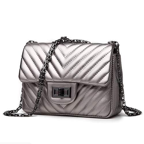 Bandoulière Femme Sac À Main Petit Fashion Silver Pour wPYAqxRR