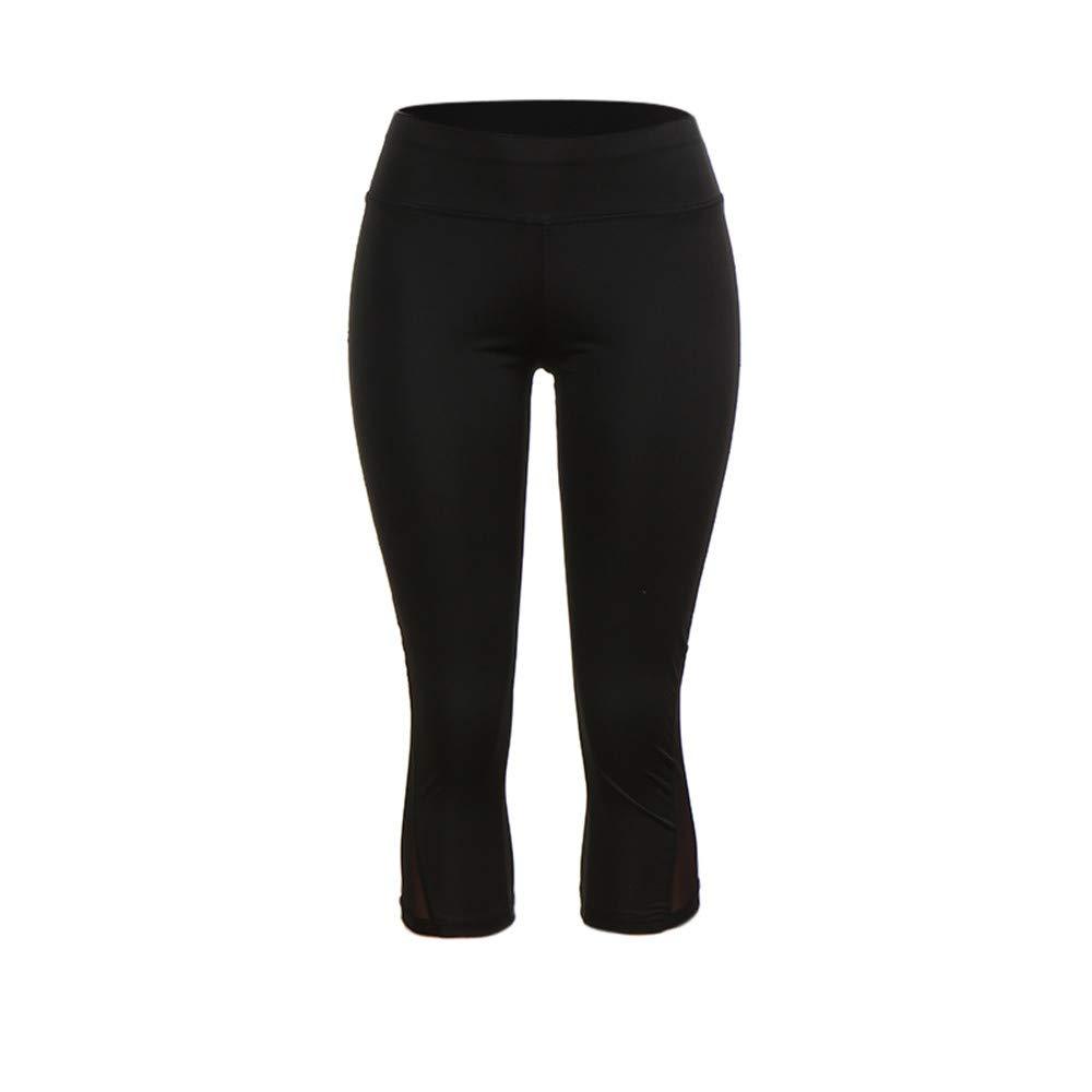 Leggins Sportivi Donna Pantalone Sportivo da Running Elasticizzato da Palestra Allenamento Opaco Yoga Palestra Leggings da Donna Vita Alta Tinta Unita Pants PANPANY