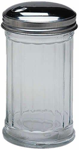 Update International (SK-FFL) 12 Oz Sugar Jars w/ Side-Flap Tops [Set of 12] by Update International