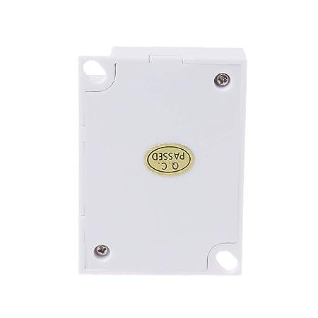 Besttse - Sensor de movimiento PIR TDL-2012 IR infrarrojos detector de inducción 12VDC: Amazon.es: Hogar