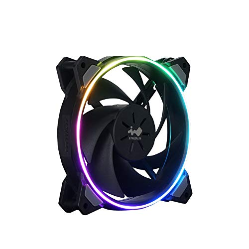 InWin Sirius Loop Addressable RGB Single Fan 120mm High Performance Cooling Computer Case Fan