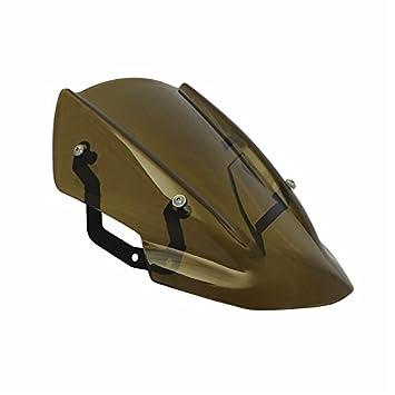 waase Motorcycle Windscreen Windshield Shield Screen with Bracket For Kawasaki Z650 2017 2018 Dark Smoke