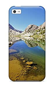 New Arrival Premium 5c Case Cover For Iphone (reflection)