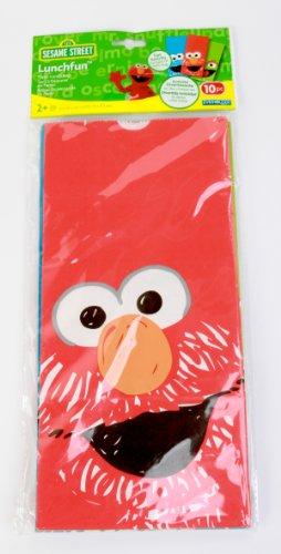 Evriholder Sesame Street Lunch Fun Bags, Set of 10