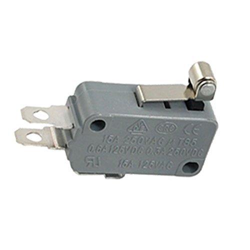 2 piezas de metal rodillo corto palanca del interruptor micro miniatura DealMux