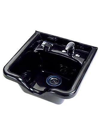 Amazon.com: Olla Shampoo Bowl and Cabinet, Assembled, Black: Beauty