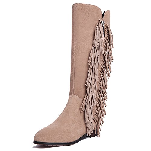 Nine SevenKnee High Boots - Botas mujer albaricoque
