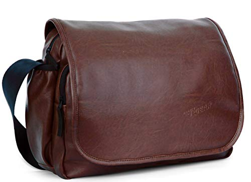F Gear Mystique 15 Ltrs Tan Laptop Messenger Bag  3125