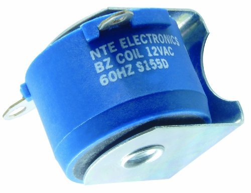 NTE Electronics RB-120 Series RB Alarm and Signal AC Buzzer, 120 VAC Nominal Voltage