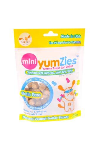 Nootie Mini Yumzies Natural Peanut Butter Flavor Dog Treats, My Pet Supplies