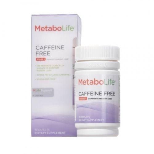 Metabolife sans caféine, étape 1, 90 Caplets